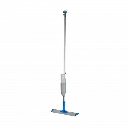 Spraymop systeem met klittenband frame en afneembaar flacon blauw