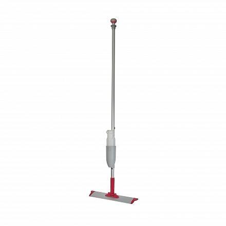 Spraymop systeem met klittenband frame en afneembaar flacon rood