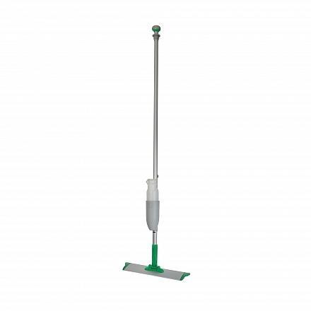 Spraymop systeem met klittenband frame en afneembaar flacon groen