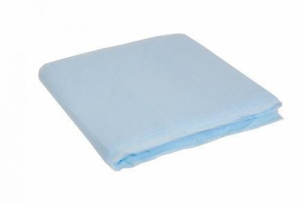 Geïmpregneerde stofwisdoek polypropyleen 100 x 30 cm blauw, 10 x 50 stuks