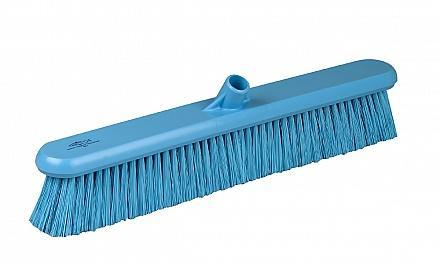 Hillbrush bezem blauw 60 cm medium vezel