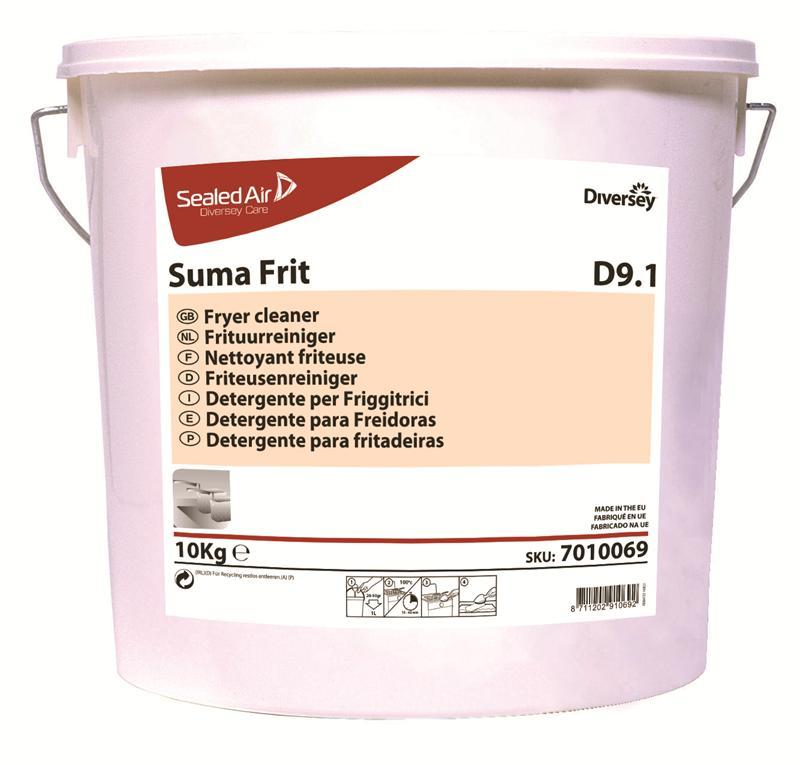 Suma Frit D9.1 frituurreiniger emmer 10 kg