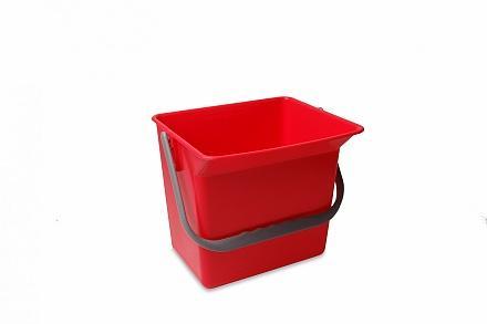Wecoline emmer 6 liter rood