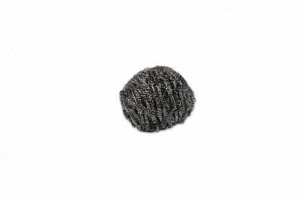 Wecoline RVS schuurbol 60 gram, 10 x 10 stuks