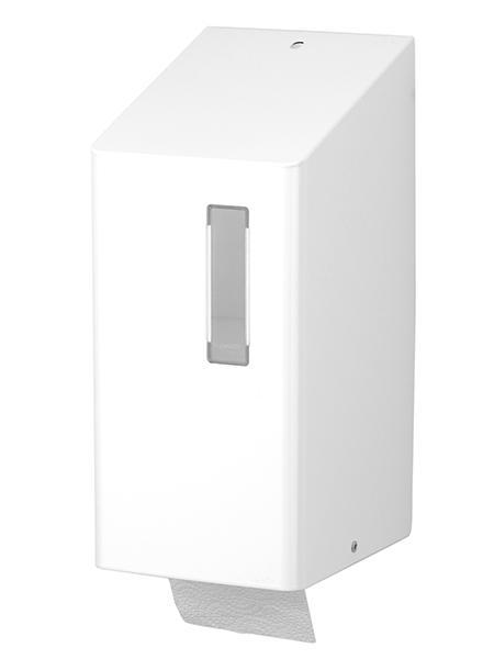Santral toiletroldispenser wit TRU 2 P