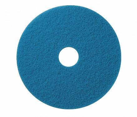 Wecoline schrob pad blauw 17 inch, 5 stuks