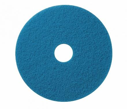 Wecoline schrob pad blauw 14 inch, 5 stuks