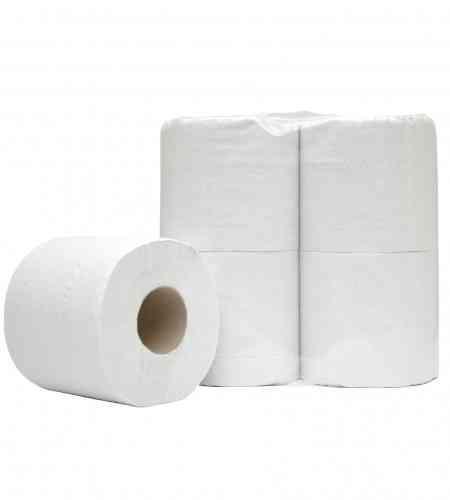 Doseer.nl toiletpapier 400 vel 2-lgs RW, 10 x 4 rollen