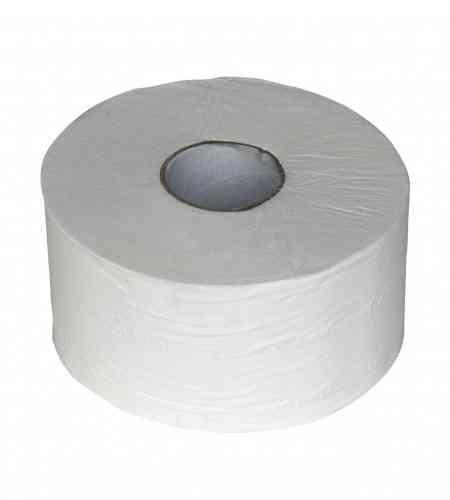 Toiletpapier mini jumbo 2-lgs 180 mtr, 12 rollen