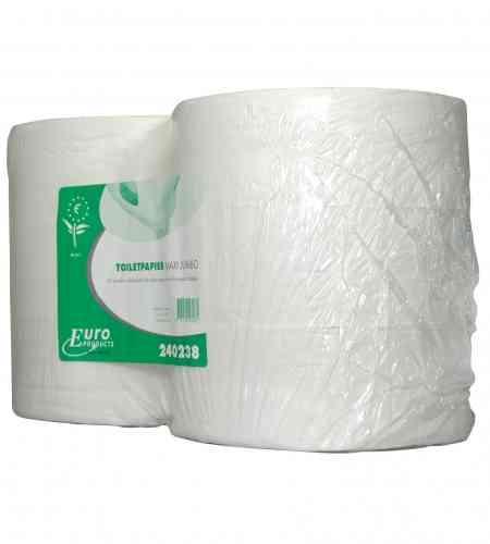 Toiletpapier maxi jumbo 2-lgs 380 mtr RW, 6 rollen