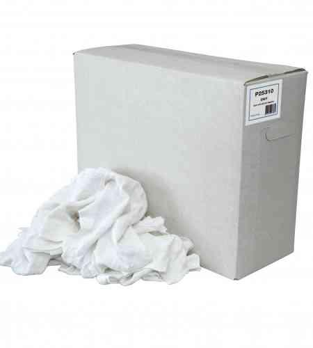 Poetslappen WTRW Witte tricot doos 10 kg