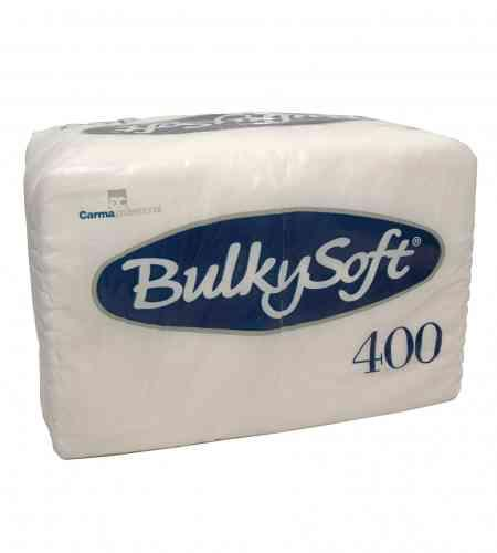 Bulkysoft servet 1-lgs 27 x 30 cm wit, 4000 stuks