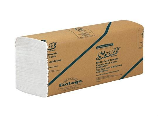 Scott handdoekpapier Multifold, 1-lgs airflex, 20 x 24 cm, 4000 st.