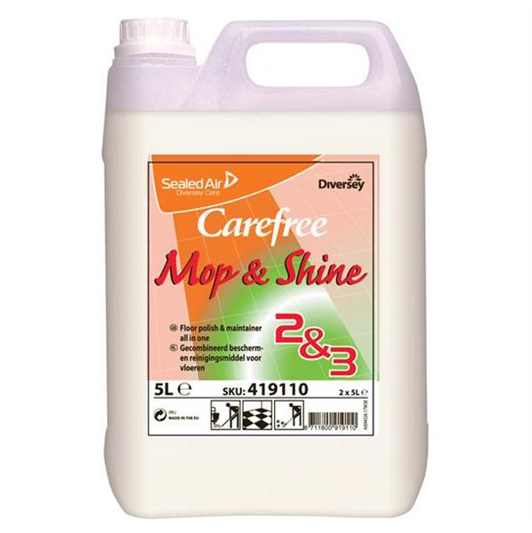 Care Free Mop & Shine, 2 x 5 liter