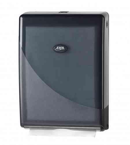 Pearl Black handdoek dispenser, multifold & c-vouw