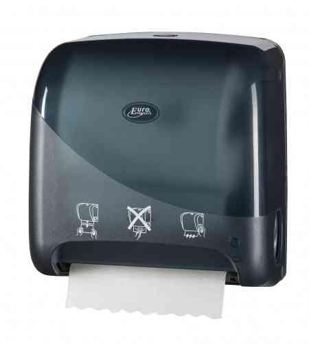 Pearl Black handdoekrolautomaat, Mini Matic XL autocut