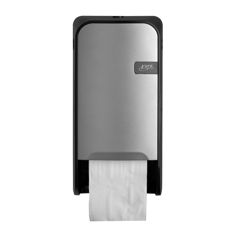 Quartz Silver toiletrolhouder doprollen
