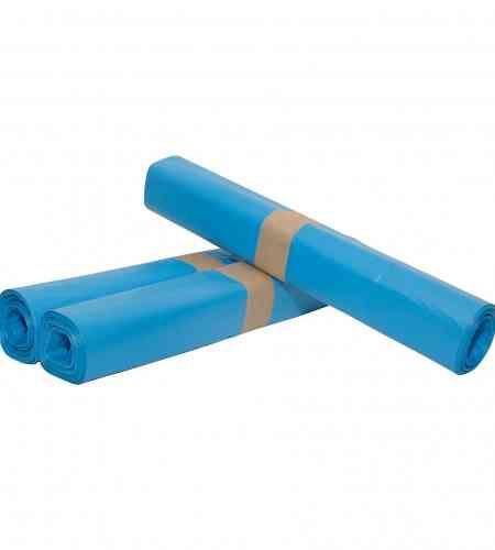 Afvalzak 70 x 110 cm T25 blauw, rol 20 stuks