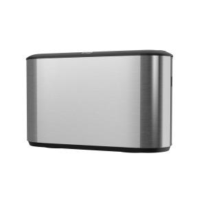 Tork Image Design countertop multifold dispenser RVS/zwart