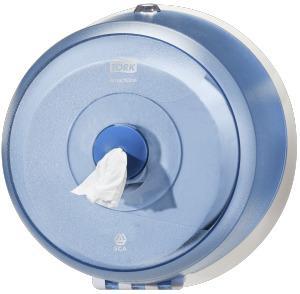 Tork SmartOne Mini toiletpapier dispenser blauw
