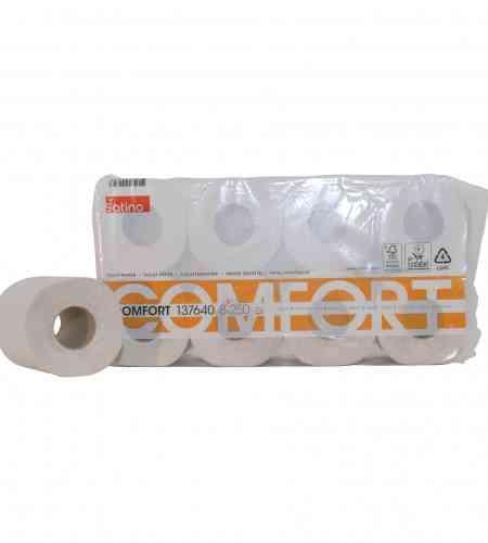 Satino toiletpapier 250 vel 2-lgs, 9 x 8 rollen