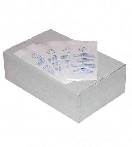Damesverbandzakken papier wit, 1000 stuks