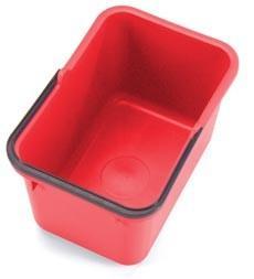 Numatic emmer SCA-12R 17 liter rood