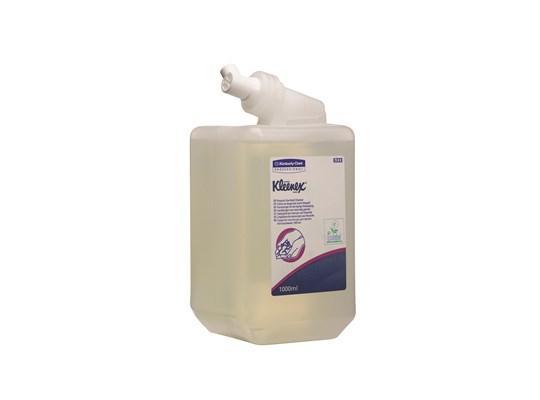 Kleenex handreiniger transparant, 6 x 1 liter