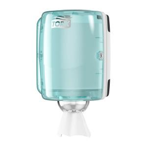 Tork Performance centerfeed dispenser turquoise/wit