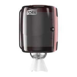 Tork Performance centerfeed dispenser zwart/rood