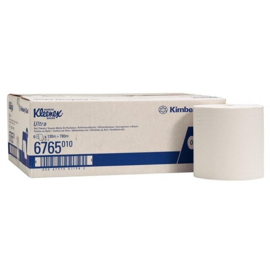 Kleenex Ultra handdoekrol airflex 2-laags, 6 x 130 mtr