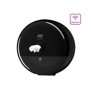 Tork Elevation SmartOne mini toiletpapier dispenser zwart