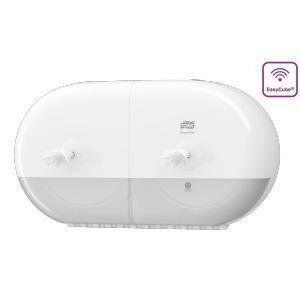 Tork Elevation SmartOne mini twin toiletpapier dispenser wit
