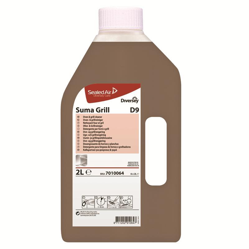 Suma Grill D9, 6 x 2 liter