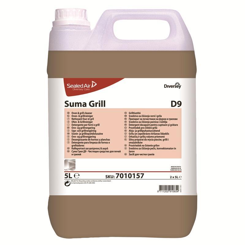 Suma Grill D9, 2 x 5 liter