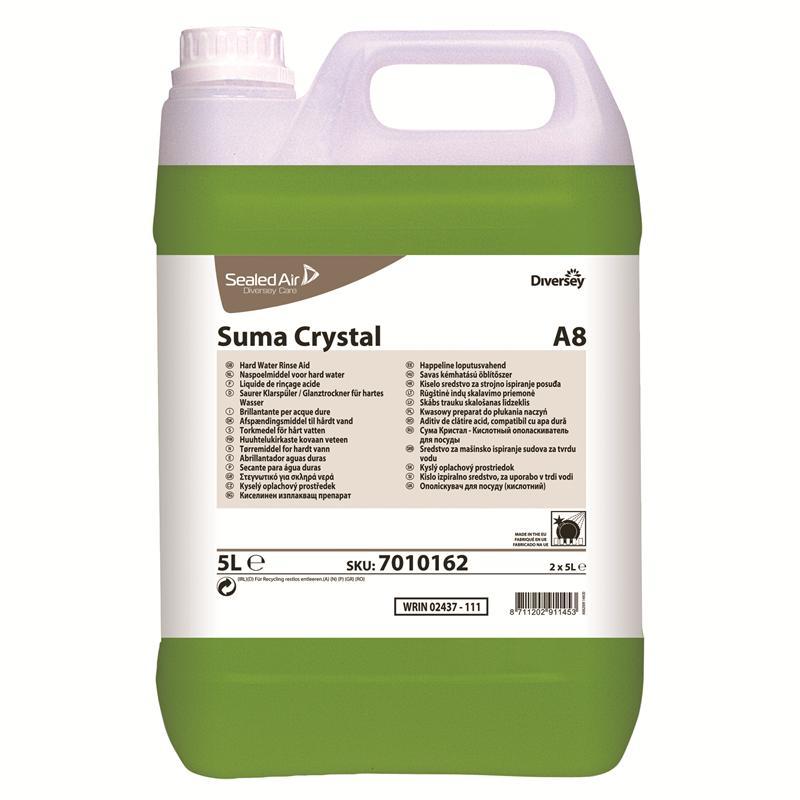 Suma Crystal A8, 2 x 5 liter