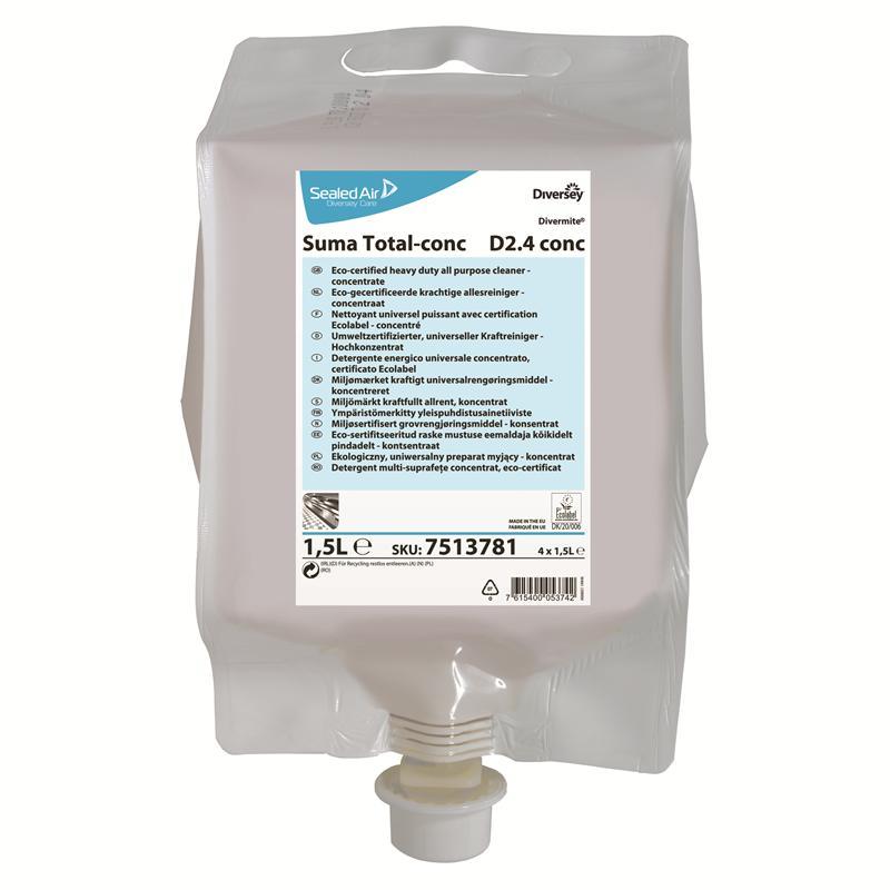 Suma Total-conc. D2.4, 4 x 1,5 liter