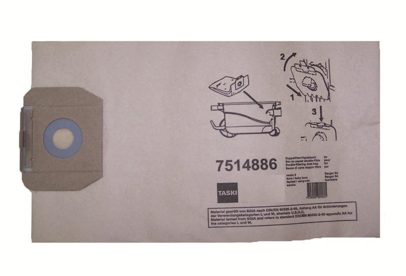 Taski stofzakken papier Vento 8, 10 stuks