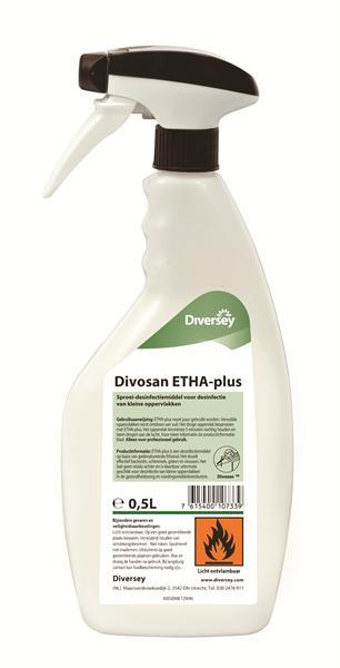 DI Divosan ETHA-plus, desinfectie, 12 x 500 ml