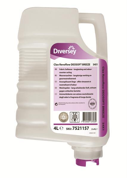 Clax Revoflow Deosoft Breeze, 2 x 4 liter