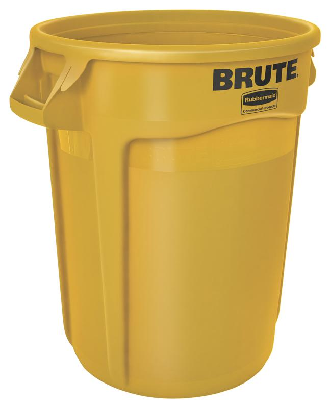 Rubbermaid Brute container 121,1 ltr geel