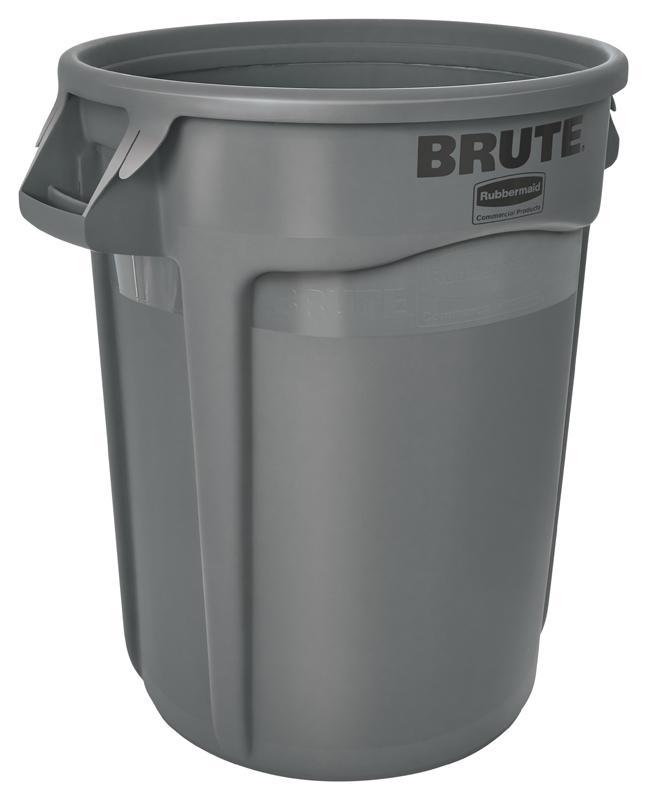 Rubbermaid Brute container 121,1 ltr grijs