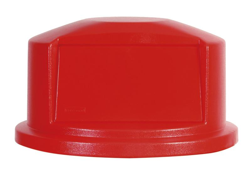 Rubbermaid Dome deksel 121,1 ltr rood