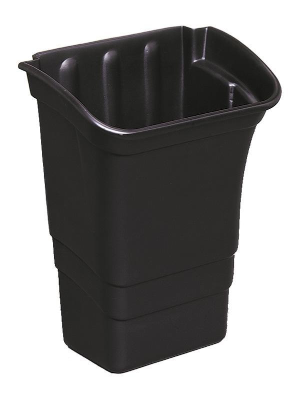 Rubbermaid afvalbak 30 ltr t.b.v. werkwagen X-tra