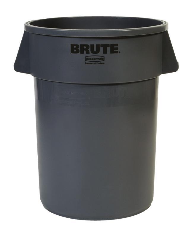 Rubbermaid Brute container 166,5 ltr grijs
