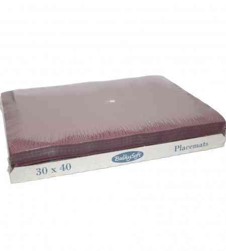 Placemats bordeaux 30 x 40 cm, 2000 stuks