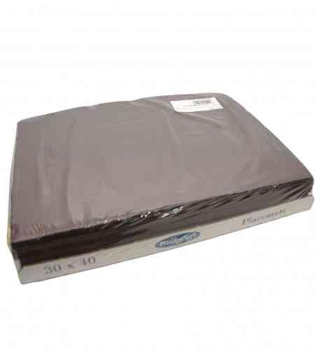 Placemats bruin 30 x 40 cm, 2000 stuks
