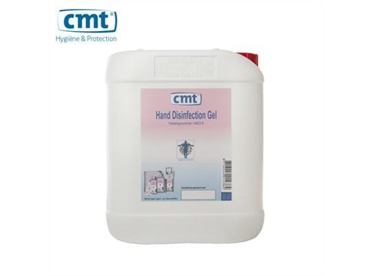CMT handdesinfectie alcoholgel can 5 liter
