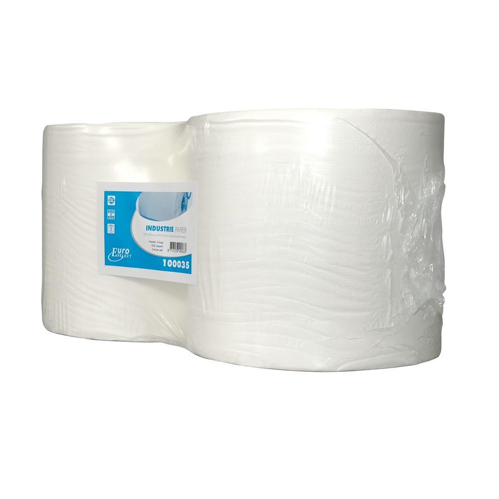 Industriepapier Select 2-lgs 350 mtr x 24 cm, 2 rollen