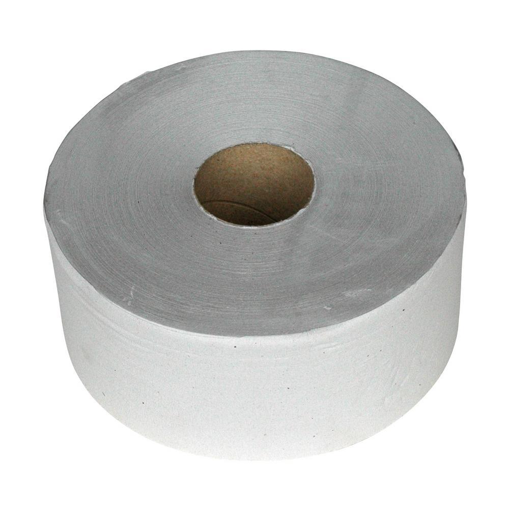 Toiletpapier maxi jumbo 1-lgs naturel 525 mtr, 6 rollen